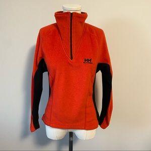 Helly Hansen Half Zip Fleece Pullover Sweater